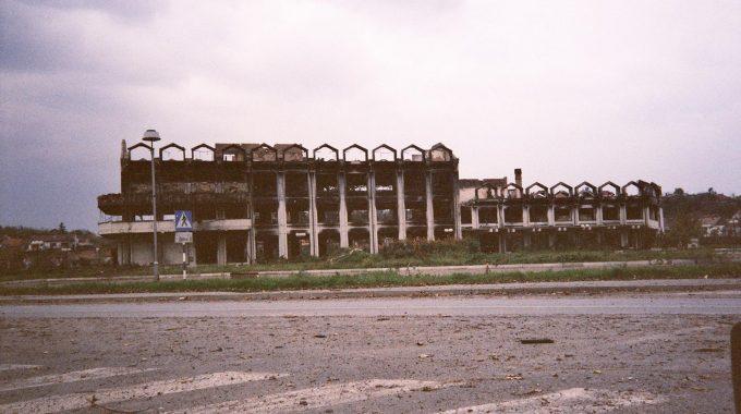 Uništeni Vukovar 1991. - Detalj