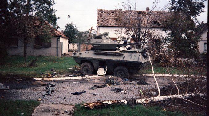 Uništeni BOV - Sajmište, Vukovar