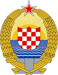 Kasnija verzija grba SR Hrvatske