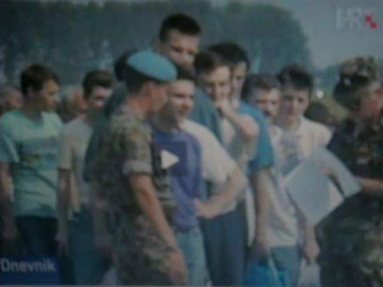 Zlatan, prvi do pripadnika UNPROFOR-a,Nemetin, 14.08.1992.