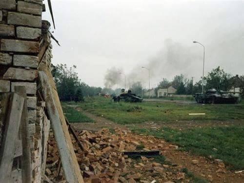 Trpinjska cesta, rujan 1991