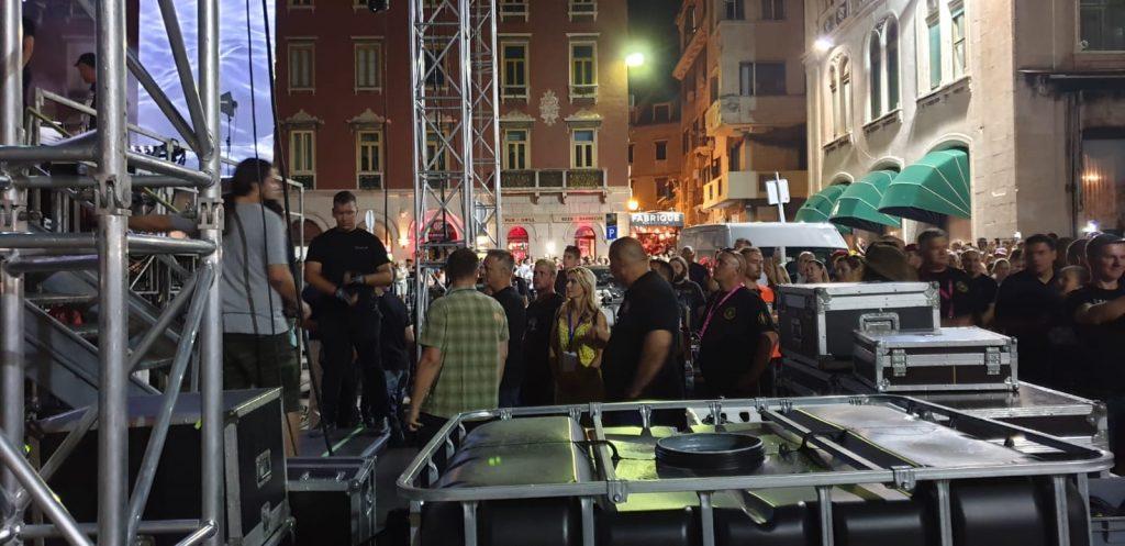 Dolazak Thompsona na pozornicu izazvao je delirij u Splitu