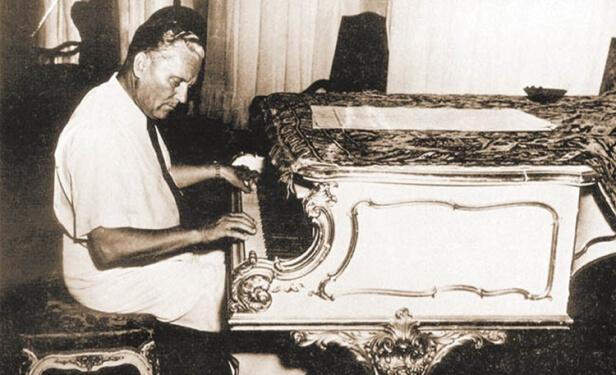 Dokaz o titovom posjedovanju klavira